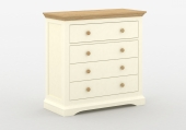 Комод HANNAH 4 DRAWER CHEST /5187-9-01 CREAM/PINE